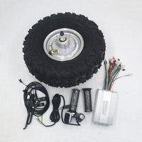 24 В 36 в 48 в 250 Вт 350 Вт 500 Вт 14,5 электрическая тачка мотор редуктор вся местность электрическая тачка комплект жир внедорожные грубые шины