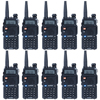 10PCS Lots Baofeng UV 5R Walkie Talkie CB Radio For 128 Channel Dual Band Two Way
