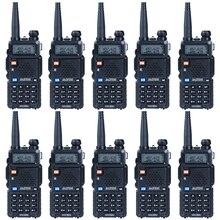 10 Teile/lose Baofeng UV 5R Walkie Talkie CB Radio für 128 Kanal Dual-band-funkgeräte