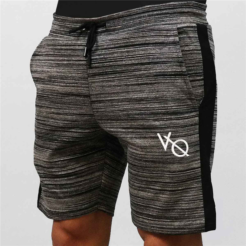 EEHCM Shorts Men Fashion Embroidery Shorts Brand Fitness Bodybuilding Shorts Men Summer  ...