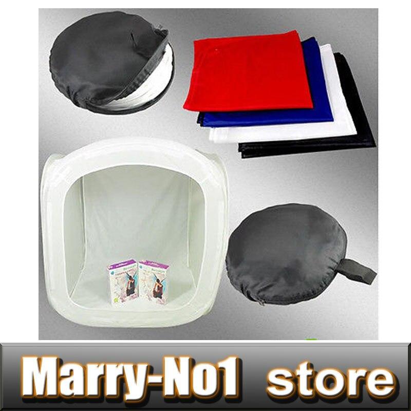 Free Shipping Photography Photo Video Softtent 60cm/24 Photo Studio Soft Box Light Tent