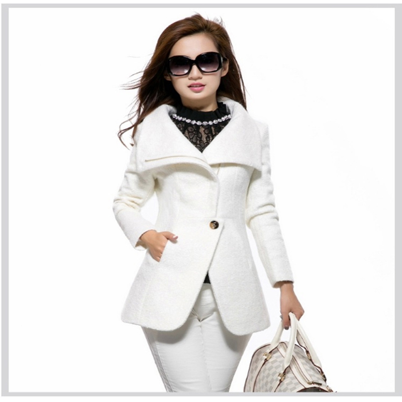 Compare Prices on White Wool Overcoat- Online Shopping/Buy Low ...