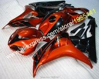 Hot Sales Newest Bodywork For Honda 2006 2007 CBR1000RR 06 07 1000 RR CBR Orange Black