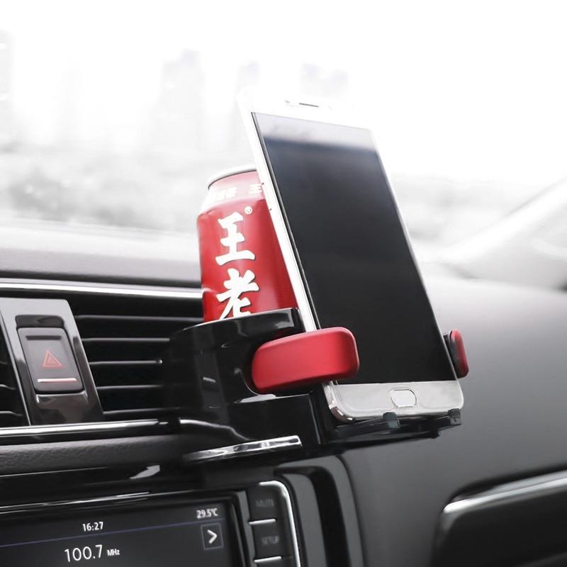 Voiture Porte-Gobelet De Téléphone Stand Pour Mitsubishi Lancer 10 9 X Asx Outlander 3 Pajero Sport L200 Carisma Colt Grandis Montero