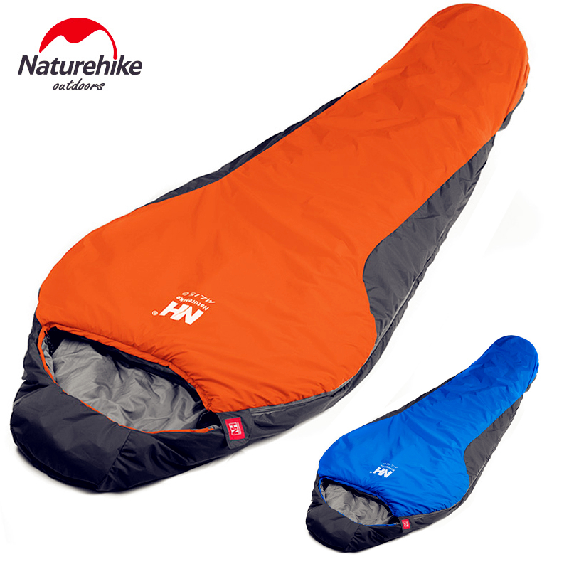 NatureHike Portable Ultralight Mini nylon mummy Sleeping Bag Multifuntional  Outdoor Camping Travel Hiking Sleeping Bags 1100g 100% genuine leather men 5 5 6 5 inch cell mobile phone case bags hip design belt purse high quality waist hook coin purse bag