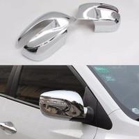 Side Mirror Cover Rearview Mirror Cover For Hyundai IX35 2010 2011 2012 2013 2014 Abs Chrome Car Auto Accessories 2pcs Per Set
