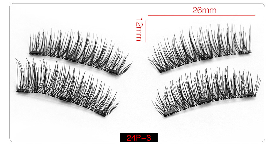 3d Magnetic False Eyelashes (9)