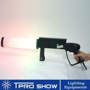 Image 3 - Mini pistolet à CO2 portatif, Machine à Cryo Co2 LED, Jet CO2 coloré pour scène de chanteur DJ avec tuyau de gaz haute pression