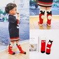 Марка Хлопок детские Носки Мода Смазливая мыши мягкие теплые носки малыша колено высокие носки для мальчиков девочек 1-6Y