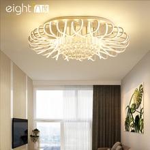 Postmodern  Simple Living Room Ceiling Lights Creative Birds Nest fixtures LED crystal Lamps Bedroom Nordic Lighting