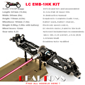 LC RACING 1:14 4WD Offroad RC Auto Buggy Chassis KIT Zerlegt # EMB-1HK