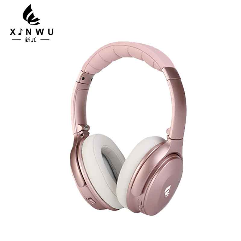 a65454079e7 XINWU Rose gold Wireless Active Noise Cancelling headband headphone-in  Bluetooth Earphones & Headphones from Consumer Electronics on  Aliexpress.com ...