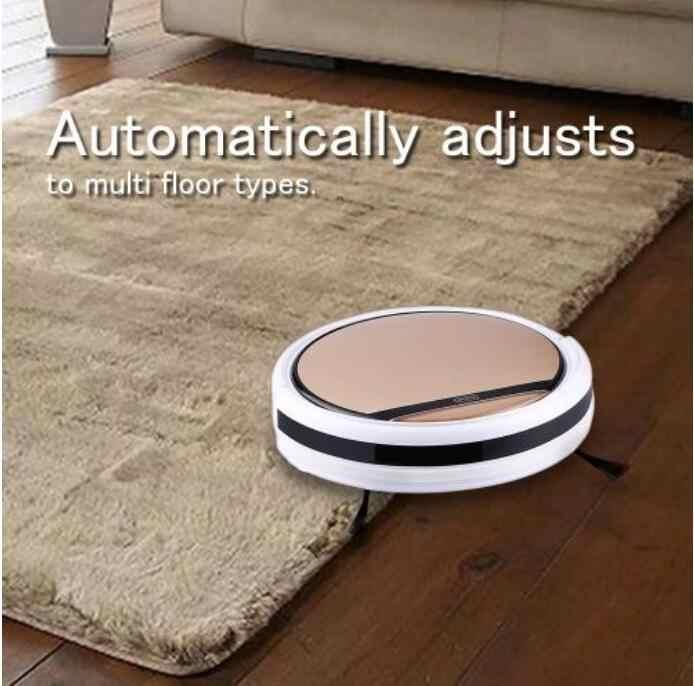 Умный робот-пылесос для влажной и сухой уборки, резервуар для воды HEPA фильтр, датчик Ciff, робот-аспиратор