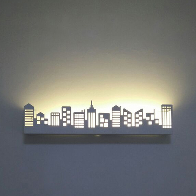 led reading light Modern wall sconce with switch wall bed lamps ...