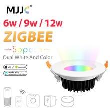 Светодиодный точечный светильник zigbee zll smart rgbcct 6 Вт