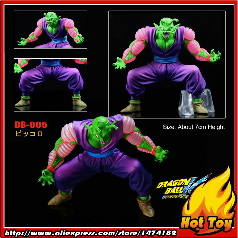 100% Original BANDAI Gashapon PVC Toy Figure DG Part 1 - Piccolo from Japan Anime Dragon Ball Z (7cm tall) 100% original bandai gashapon figure hg part 20 goku super saiyan special ver from japan anime dragon ball z 9cm tall