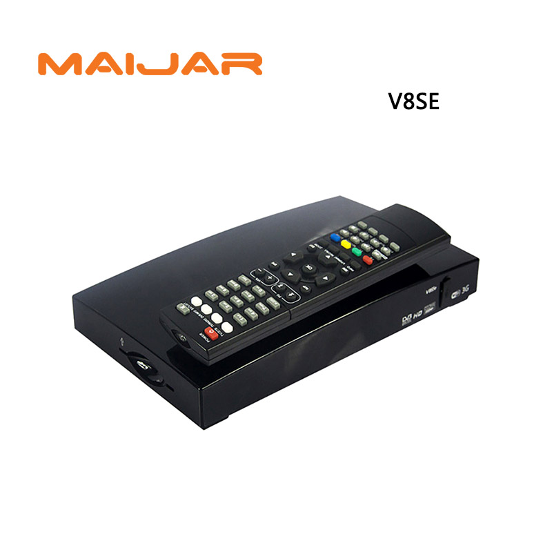 Tv Set Top Box V8Se Free To Air Satellite Receiver AV HDMI Output with USB Wifi WEB TV Biss Key 2xUSB Youporn CCCAMD NEWCAMD solovox v6s satellite receiver home cinema hdmi av smart tv box free cccamd live free hot xxx channel stalker xtream