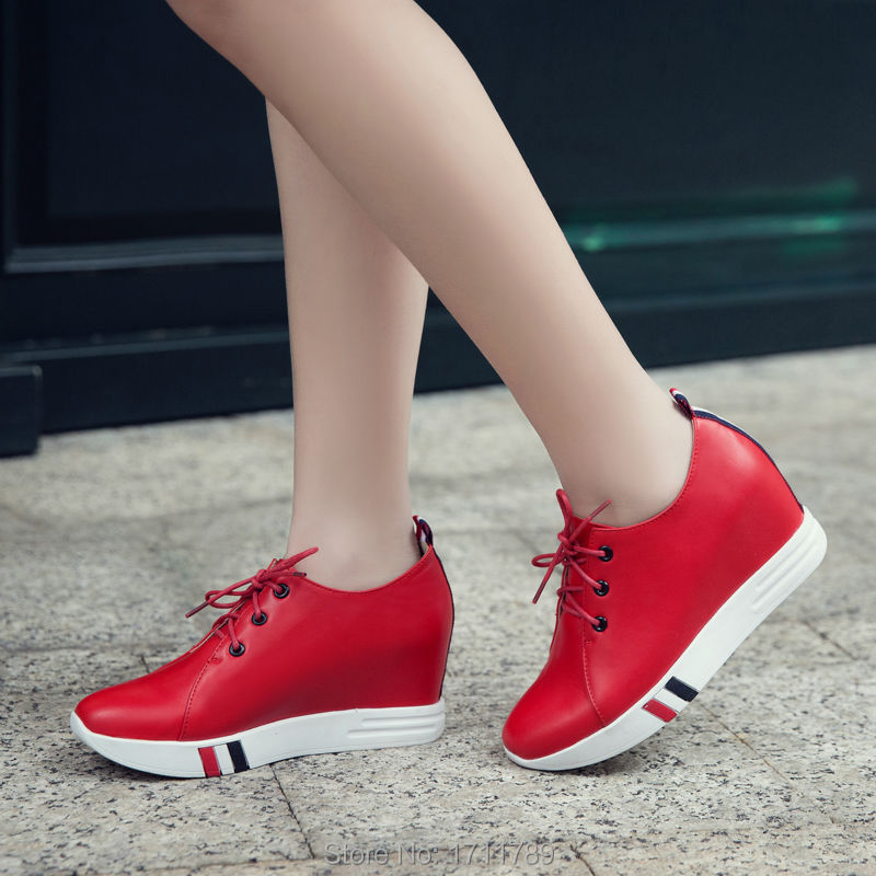 new fashion spring autumn shoes women shoes platform lace-up pumps med heels wedges mixed colors small big size 33-43 0136 new fashion spring autumn women shoes platform high heels buckle strap thick heels pumps lady shoes small big size 31 43 0061