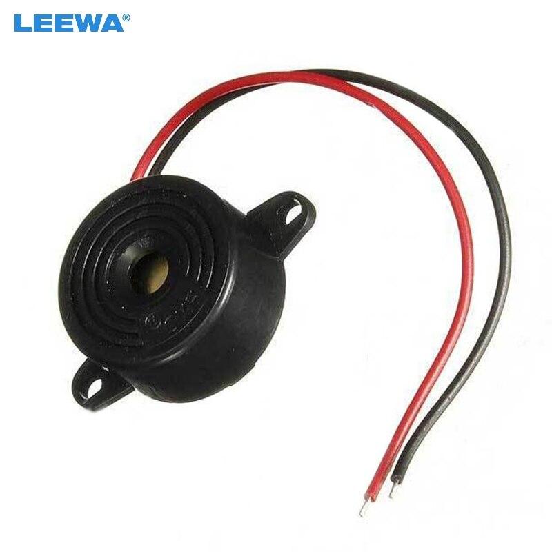 LEEWA 10PCS 3-24V Auto Car Piezo Electronic Tone Buzzer Alarm 95DB Continuous Sound #CA1802 ...