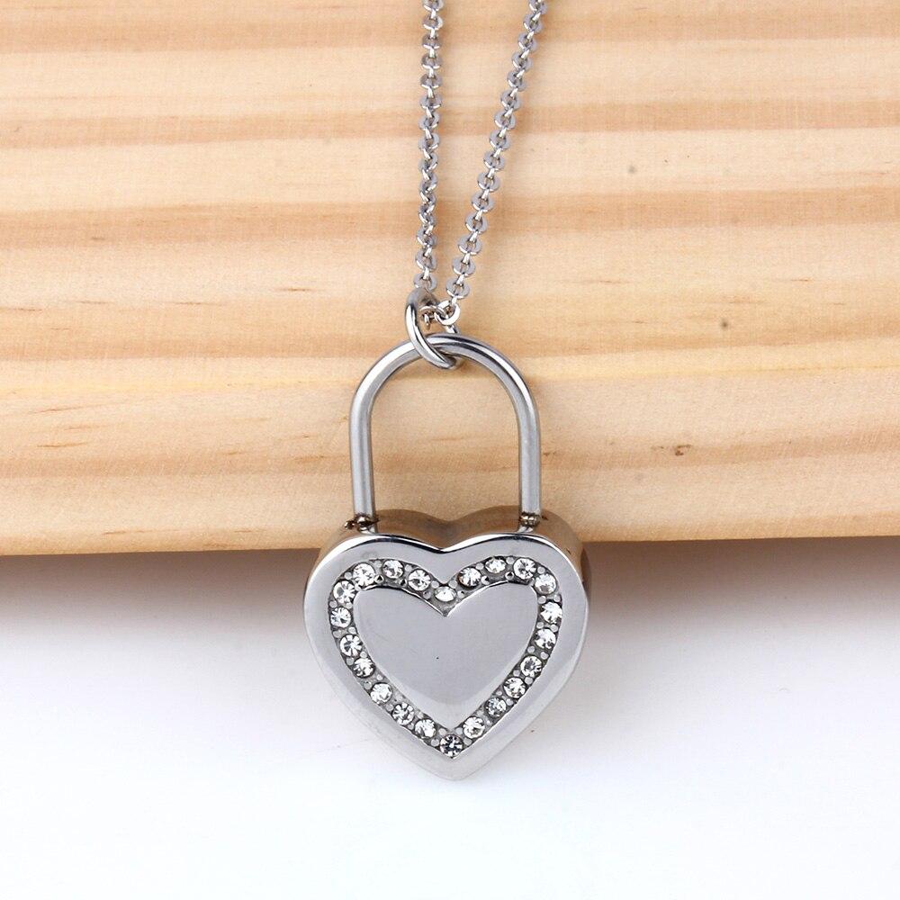 XUANHUA Día de San Valentín Regalo Corazón Collares y Colgantes - Bisutería - foto 6
