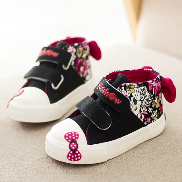 2016 New Spring Girls Shoes Baby Sneakers Size 19 24 Baby Shoes 360