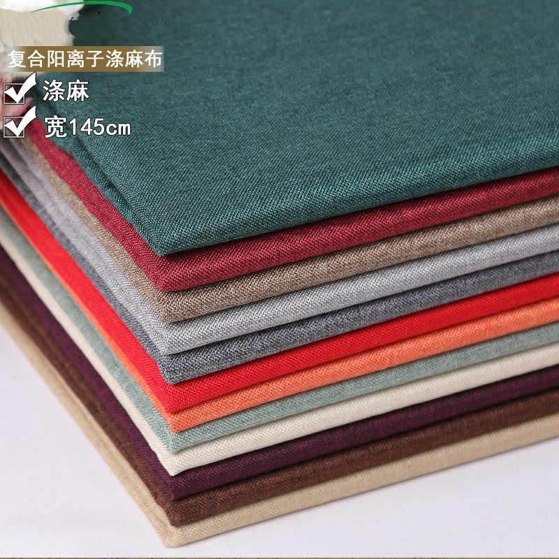 Cotton Linen Fabric For Sofa Cover