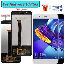 Dla Huawei P10 Plus wyświetlacz LCD ekran Digitizer zgromadzenie dla Huawei VKY L09 VKY L29 VKY AL00 P10 Plus moduł wyświetlacza lcd ekran