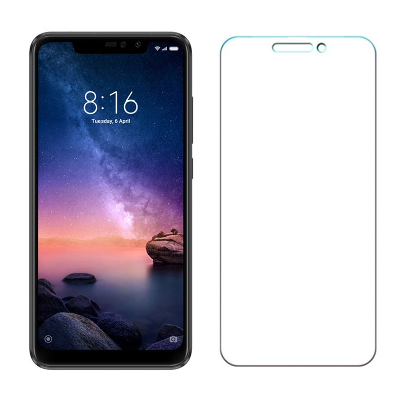 2Pcs lot Tempered GLASS For Xiaomi Redmi Note 6 Pro Global Version Snapdragon 636 Smartphone 9H Screen Protective Film 6 26 inch in Phone Screen Protectors from Cellphones Telecommunications