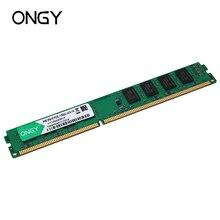ONGY Ram DDR3 8 GB 1600 MHz настольная память 240pin 1,5 V Новая DIMM Компьютерная память оперативная память ddr 3 для Intel и AMD