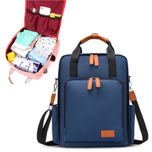 Fashion Mummy Maternity Nappy Bag Waterproof Large Capacity Baby Bag Travel Backpack Mother Business Nursing Bag for Baby Care fashion large capacity multifunctional nappy bag mummy shoulder bag mother baby bag zipper closure 34 29cm tt168