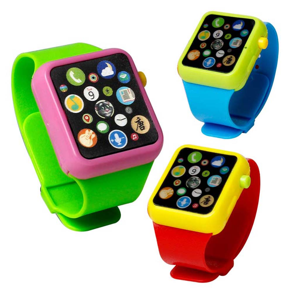 Kids Toy Smart Watch Early Educational 3D Touch Screen Music Sound Watch Early Learning Machine Wristwatch Toy
