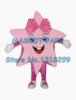 Талисман довольно розовые звезды девушка костюм талисмана взрослых размер мероприятия для детей, выполняющих костюмы праздник карнавал не