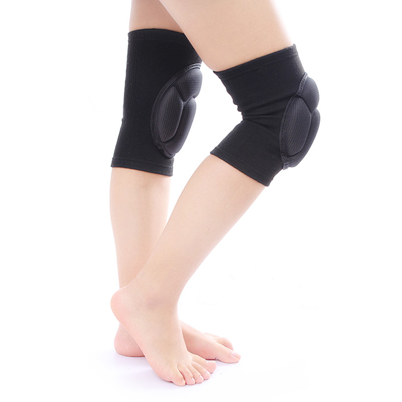 1 Pair Thick Kneepad Extreme Knee Pad Eblow Brace Support Lap Knee Protector For Football Volleyball Cycling Sports FDC99