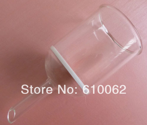 3000ml Glass Buchner funnel filter, 3# Coarse filter, core size 15-40  Micron, straight tube type