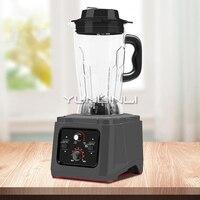 2200W Kommerziellen Hohe Geschwindigkeit Mixer Multifunktionale Lebensmittel Verarbeiter 5L Kommerziellen Entsafter/Sojamilch Maschine
