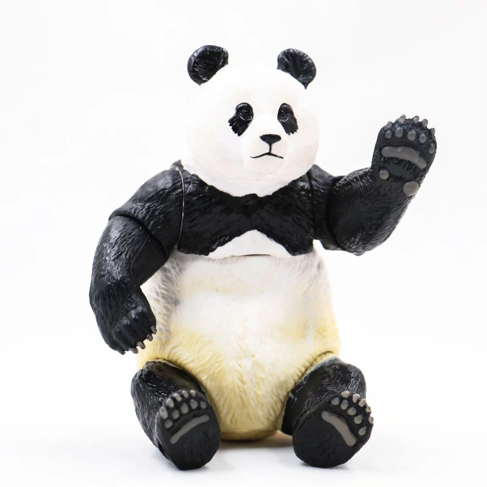 Toys Action-Figure Panda-Collection Christmas-Gifts Cute for Children 13cm Movable Giant