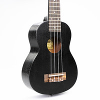 DIDUO 21 Inch 15 Frets Hawaii Mahogany Ukulele Musical Instruments Suitable For Beginners Rosewood Black