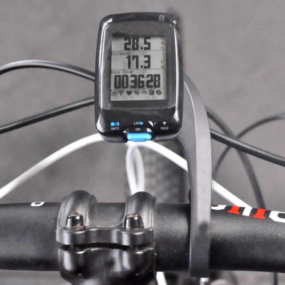 2019 Outdoor Bersepeda Sepeda Dudukan Braket Pegangan Bar GPS Komputer Mount untuk Garmin Edge GPS Peta Sepeda Aksesoris Sepeda B25