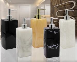 Image 3 - Resin hand sanitizer lotion bottle shower gel shampoo press bottle bathroom supplies portable soap bottle O002