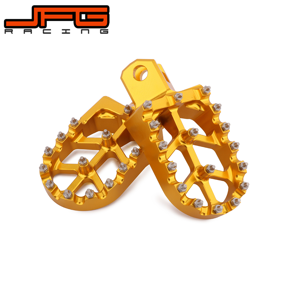 Motorcycle MX FootRest Footpegs Pedals For SUZUKI KAWASAKI DRZ 400 DRZ400 DRZ400S SRZ400SM DRZ400E KLX400R KX500 KX 500 for kawasaki motocross spoke skins wheel rim spoke covers for kawasaki 500 kx 450 klx250 klx450r klr650 suzuki drz400 rmx250 new