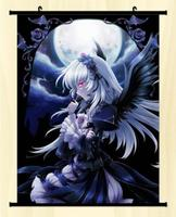 Rozen Maiden Suigintou Mercury Lampe Home Decor Poster Wall Scroll 60*80CM C91