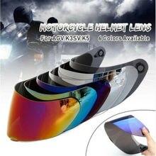 Full Face Detachable Motorcycle Helmet Lens Shield Visor Anti UV Fit AGV K3SV K5