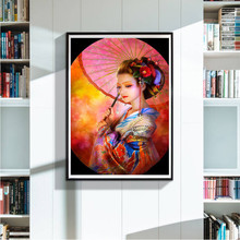 Buy Embroidery Paintings Rhinestone Pasted DIY Diamond Painting Cross Stitch 5D directly from merchant!