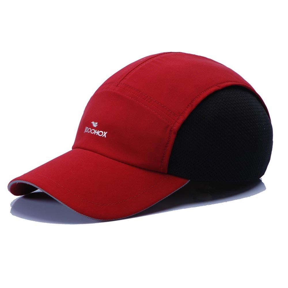 Women Hat Mercerized Baseball-Cap Spring Summer Man Mesh Breath Cotton JIDOFOX And