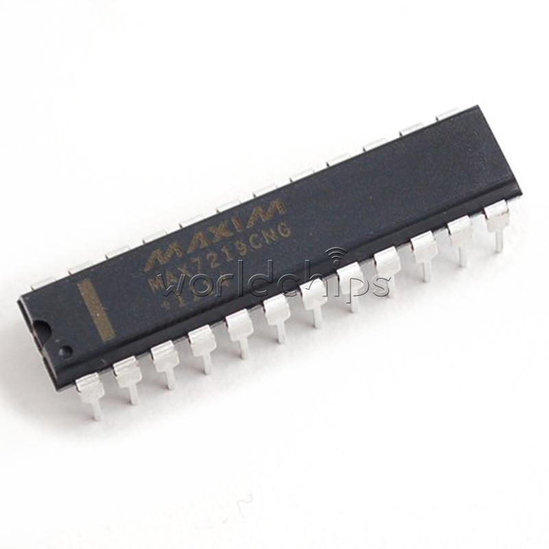 5PCS LED Display Drivers IC MAXIM DIP-24 MAX7219CNG MAX7219CNG+