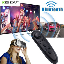 kebidu Wireless Bluetooth Remote Controller Gamepad Update For Android Joystick Game Pad Control For 3D Glasses VR BOX Shinecon(China)