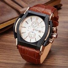 Часы мужчины люксовый бренд DIDUN Спортивные часы для Мужчин Стали Военные Кварцевые Часы Водонепроницаемые Наручные Часы Relogio Masculino