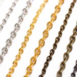5m/lot 2.5/3.5/4.5mm Necklace