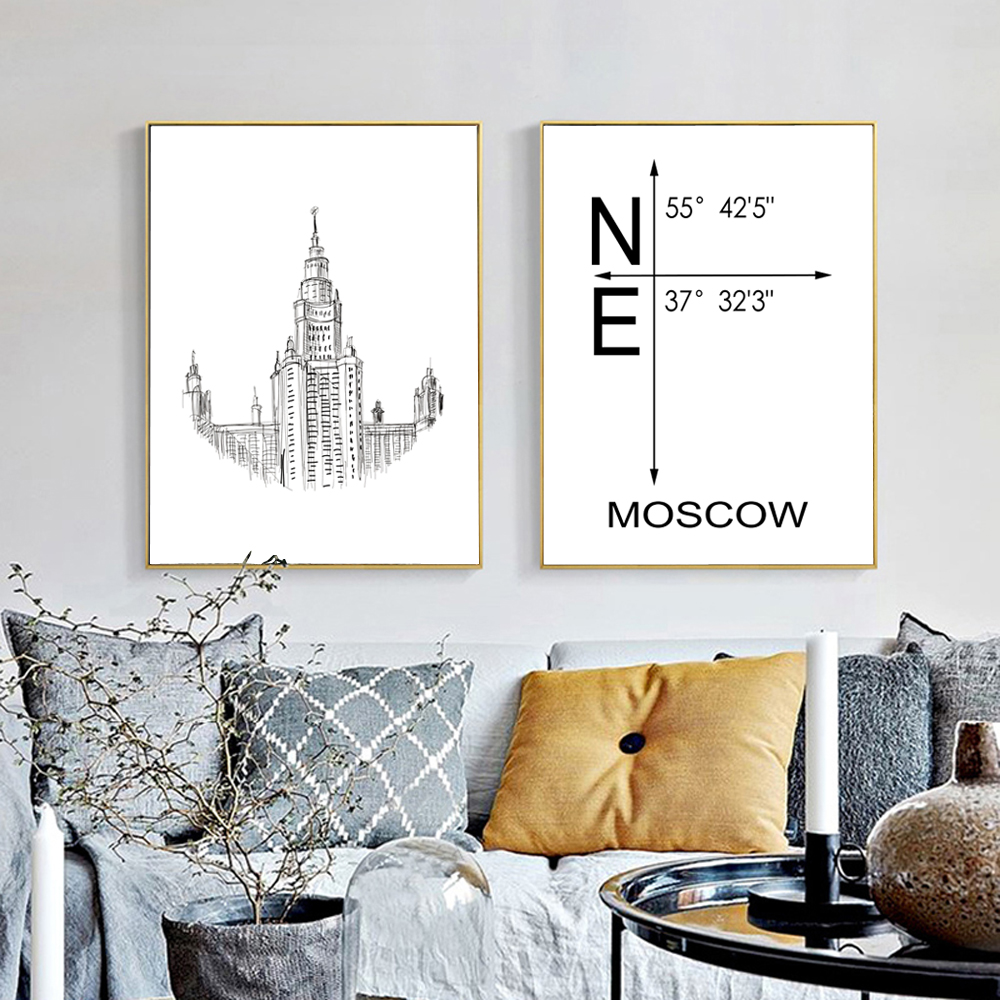 Modern Architecture Posters Promotion Shop For Promotional Modern