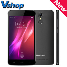 Original HOMTOM HT27 3G Handy Android 6.0, MTK6580 Quad Core 1,3 GHz, RAM 1 GB ROM 8 GB Dual SIM Smartphone OTA Fingerabdruck